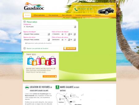 Location voiture Guadaloc | guadaloc.com