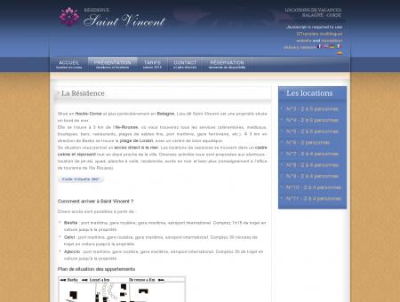 Location Balagne Corse : La Résidence -...