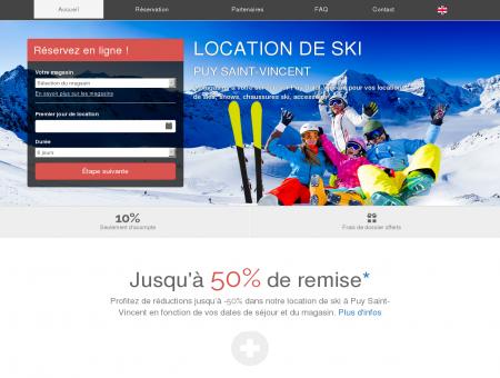 Location de ski Puy Saint-Vincent - 2...