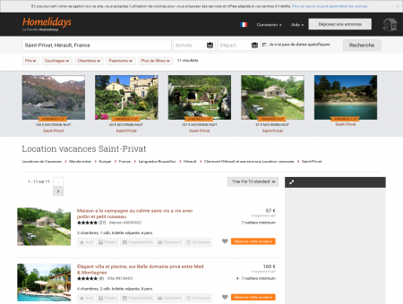 Location vacances Saint-Privat : location...