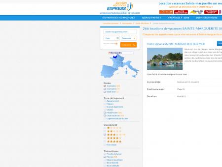 Location Sainte-marguerite sur mer > 79...