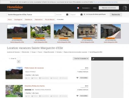 Location vacances Sainte-Marguerite-d'Elle :...