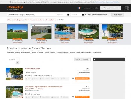 Location vacances Sainte Gemme : location...