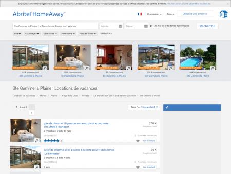 Location vacances Ste Gemme la Plaine :...