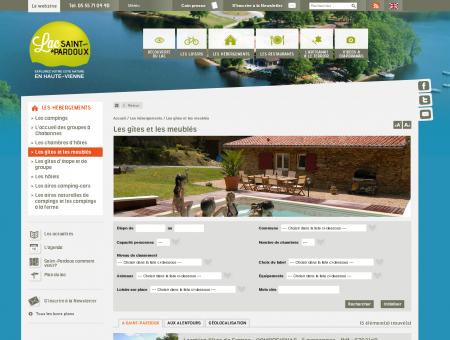 Lac Saint Pardoux - Les gîtes et les meublés