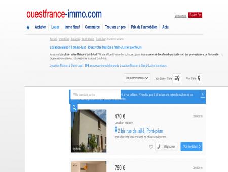 Location Maison à Saint-Just : louez votre...