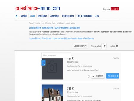 Location Maison à Saint-Saturnin : louez votre...