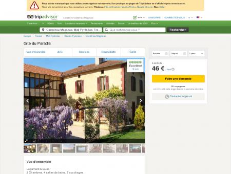 Gite du Paradis - Locations Castelnau...
