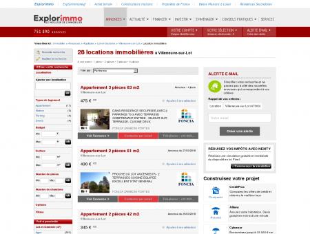 Immobilier à Villeneuve - Location Villeneuve-sur-lot