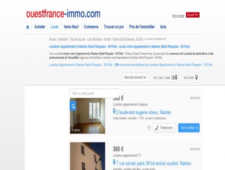 Location Appartement à Nantes Saint-Pasquier...