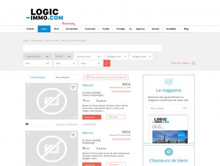 Location Immo Saint Omer | logic-Immo.com