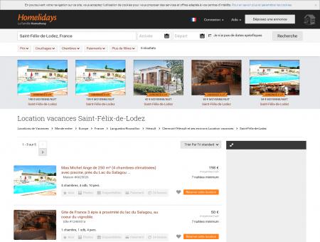 Location vacances Saint-Félix-de-Lodez :...