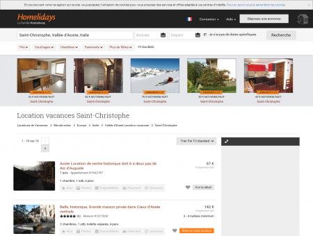 Location vacances Saint-Christophe : location...