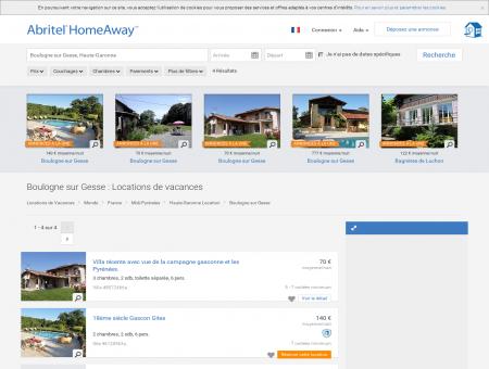 Location vacances Boulogne sur Gesse :...