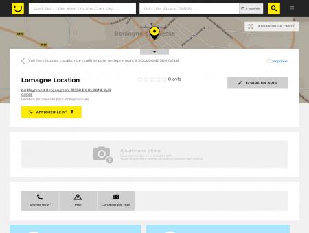 Lomagne Location Boulogne sur Gesse...