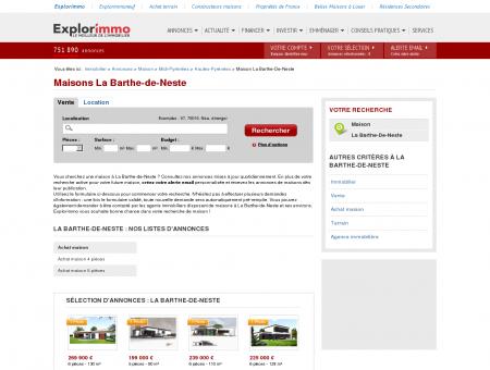 Maison / villa La Barthe-de-Neste - Immobilier...