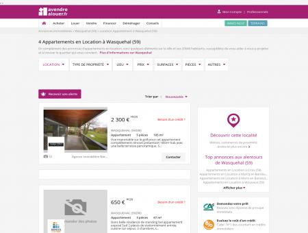 Location Appartement Wasquehal (59) | Louer...