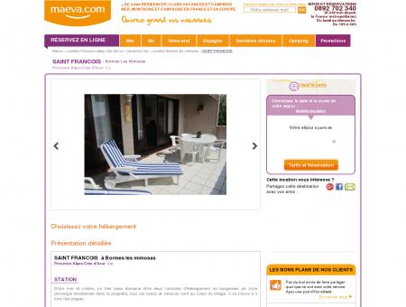 Location Saint Francois | Maeva.com