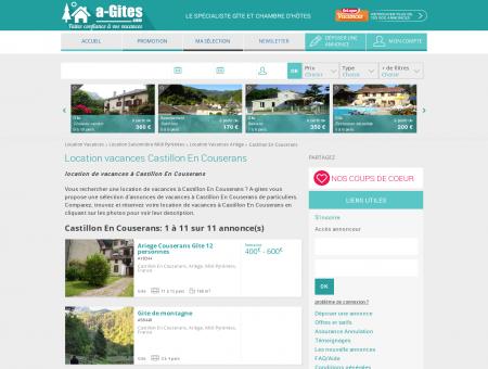 Location vacances Castillon En Couserans -...