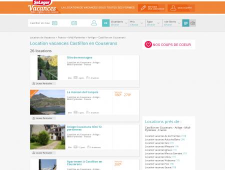Location vacances Castillon en Couserans...