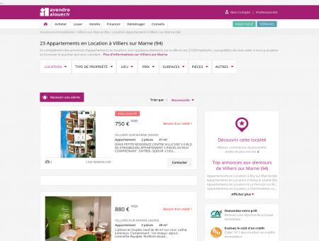 Location Appartement Villiers sur Marne (94) |...