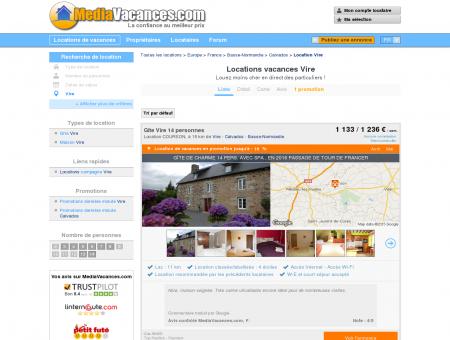 LOCATIONS VACANCES VIRE -...