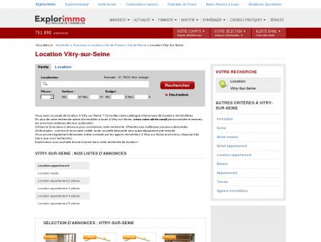 Location Vitry-sur-Seine : immobilier à louer...
