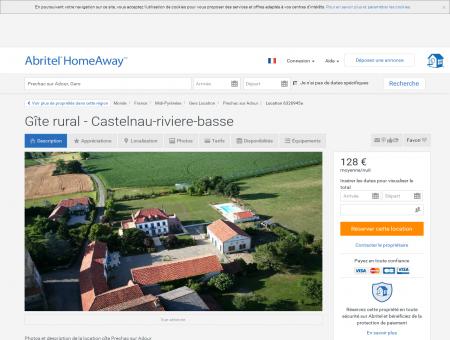 Gîte rural - Castelnau-riviere-basse - Gers |...