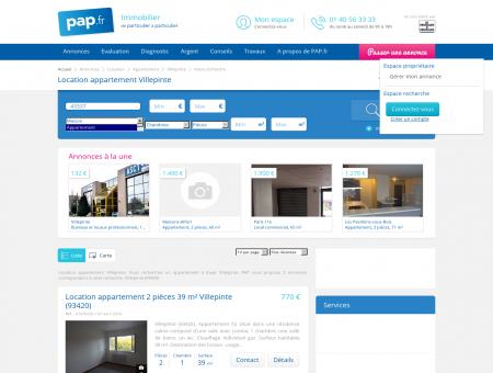 Location appartement Villepinte -...