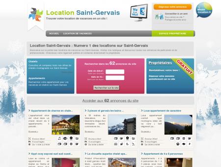 Location Saint-Gervais : 62 locations...