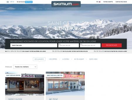 Location ski Saint Gervais - SKIMIUM et...