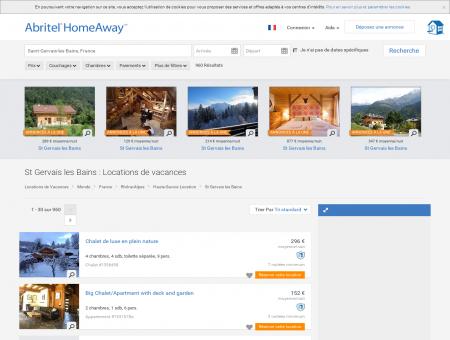Location vacances à St Gervais les Bains :...