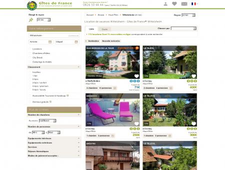 Location de vacances Wittelsheim - Gîtes de...