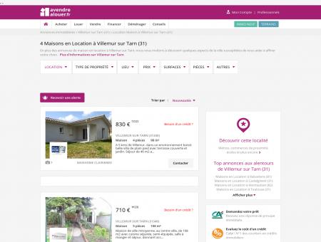 Location Maison Villemur sur Tarn (31) | Louer...