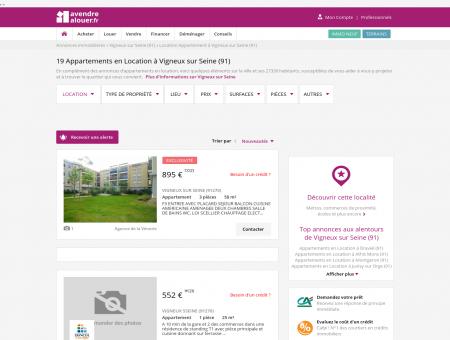 Location Appartement Vigneux sur Seine (91) |...