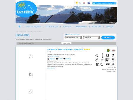 Locations: Saint-Bonnet-en-champsaur