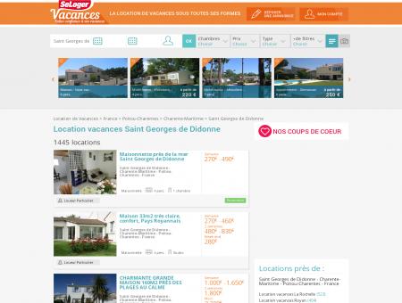 Location vacances Saint Georges de Didonne...