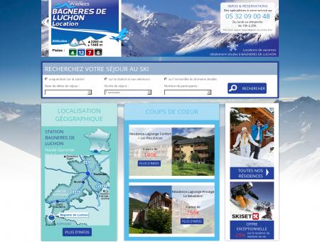 Location Bagneres de luchon - Station de ski...