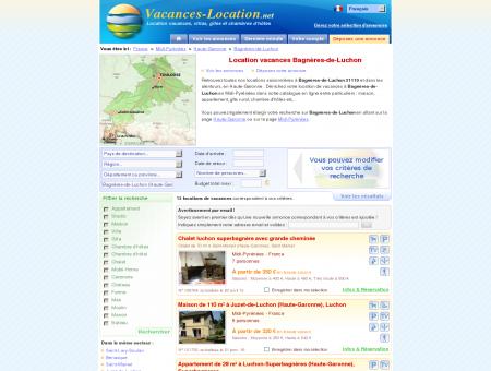 Location vacances Bagnères-de-Luchon...