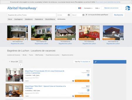 Location vacances à Bagnères de Luchon :...