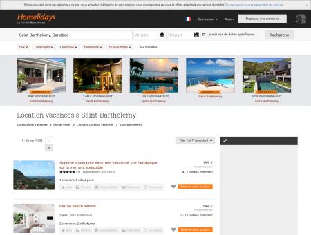Location vacances à Saint-Barthélemy :...