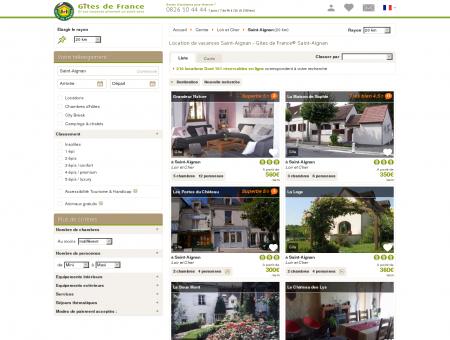 Location de vacances Saint-Aignan - Gîtes de...