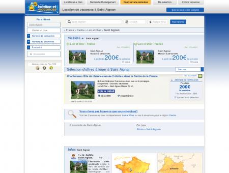 Location vacances Saint Aignan : Locations...