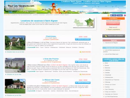 Location vacances Saint Aignan, locations...