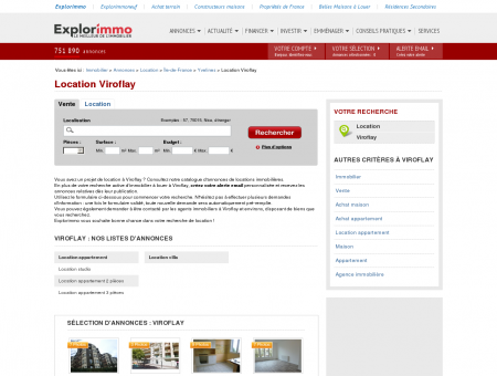 Location Viroflay : immobilier à louer Viroflay