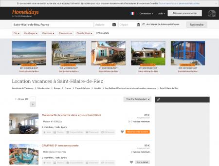 Location vacances à Saint-Hilaire-de-Riez :...