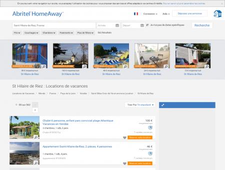 Location vacances à St Hilaire de Riez : toutes...