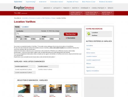 Location Varilhes : immobilier à louer Varilhes