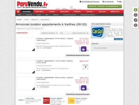 Location appartement à Varilhes (09120) :...