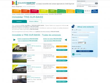 Immobilier TRIE-SUR-BAISE 65220 : annonces...
